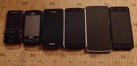 My Phone Collection.